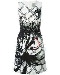 Preen Roseworth Printed Shift Dress - Lyst