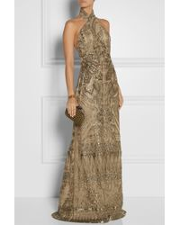 Emilio Pucci Embellished Tulle Gown - Lyst