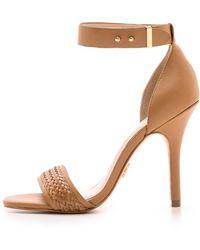 Pour La Victoire - Yaya Braided Sandals - Lyst