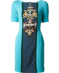 Mary Katrantzou Harlie Shift Dress - Lyst