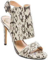 Vince Camuto Animal Fandy Heel - Lyst