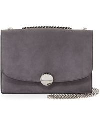 Marc Jacobs Trouble Suede Double-chain Shoulder Bag - Lyst