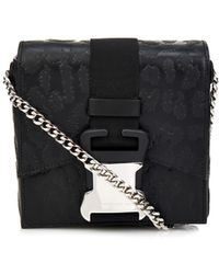 Christopher Kane Safety Buckle Leopard Mini Cross-Body Bag - Lyst