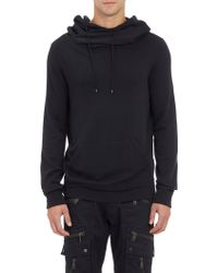 Ralph Lauren Black Label - Oversize Hoodie Sweatshirt - Lyst