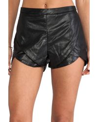 Blessed Are The Meek Half Moon Short - Lyst