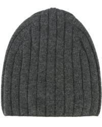 Theory - Ribbed Knit Beanie - Lyst