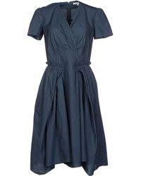 Carven Knee Length Dress - Lyst