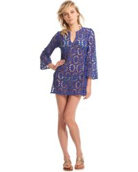 Trina Turk Layne Cover Up - Lyst