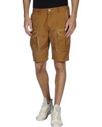 Scotch & Soda Bermuda Shorts brown - Lyst
