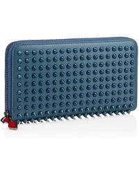 Christian Louboutin Panettone Wallet Spikes - Lyst