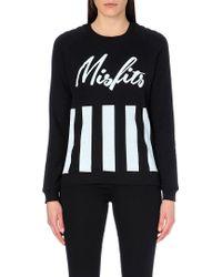 Zoe Karssen Misfits Jersey Sweatshirt - Lyst