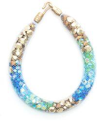 Peppercotton - Sea Strand Swarovski Crystal Bracelet - Lyst