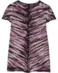 Proenza Schouler Tie-Dyed Cotton-Jersey T-Shirt - Lyst