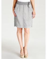 Sandwich - Linen Skirt - Lyst
