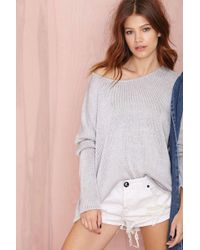 Nasty Gal Sierra Sweater - Lyst