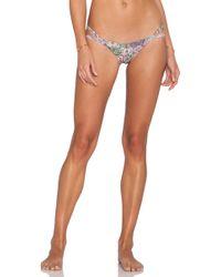 San Lorenzo - Loop Strap Thong Bikini Bottoms - Lyst