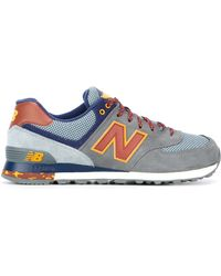 New Balance | gray '574' Sneakers | Lyst