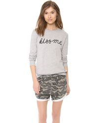 A Fine Line - Kiss Me Forever Sweatshirt - Lyst