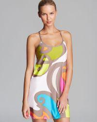 Trina Turk The New Pop Wave Swim Cover Up Dress - Lyst