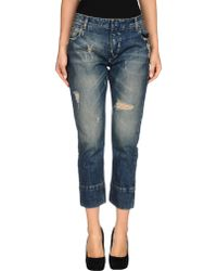Balmain Denim Pants - Lyst