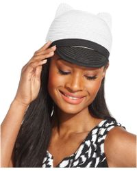BCBGMAXAZRIA - Kitty Cap - Lyst