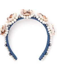 Masterpeace - Rose Pearl Headband - Lyst