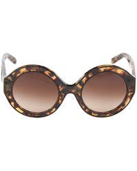 Tory Burch Brown sunglasses - Lyst
