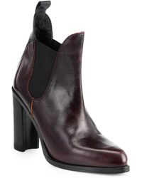 Rag & Bone Stanton Leather Chelsea Ankle Boots - Lyst