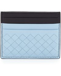 Bottega Veneta Flat Woven Card Case - Lyst