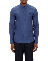 Kenzo Eyeembroidered Oxford Cloth Shirt - Lyst