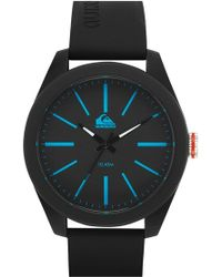 Quiksilver - 'the Young Gun' Silicone Strap Watch - Lyst