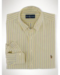 Polo Ralph Lauren Custom Striped Oxford Shirt - Lyst