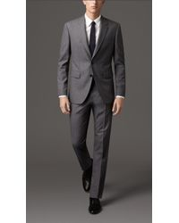 Burberry Classic Fit Wool Suit - Lyst