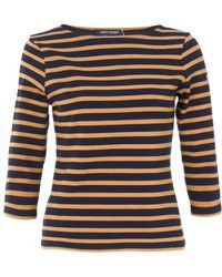 Saint James Striped Top - Lyst