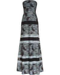 Missoni Lace Long Gown - Lyst