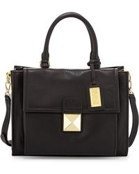 Badgley Mischka Finnie Small Leather Tote Bag - Lyst