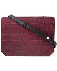 Alexander Wang Prisma Envelope Bag with Rhodium - Lyst