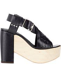Thakoon Addition - Bassy Crisscross-strap Sandals - Lyst