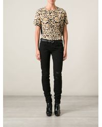 Gucci Animal Leopard Top - Lyst