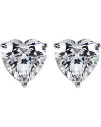 Carat* - Hearts For You 0.75ct Solitaire Stud Earrings - Lyst