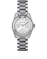 Michael Kors Blair 33Mm Chronograph Glitz Watch - Lyst