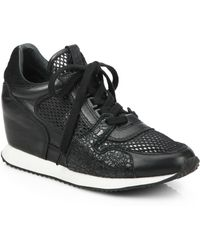 Ash Dean Mesh Wedge Sneakers - Lyst