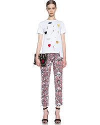Stella McCartney Embellished Tee - Lyst