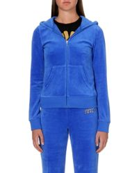Juicy Couture Couture Original Velour Hoody - Lyst