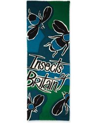 Burberry Prorsum - Insects Of Britain Scarf - Lyst