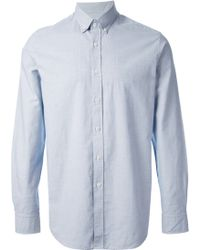 Mr Start Wessex Light Blue Shirt - Lyst