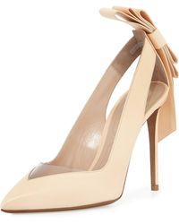 Nicholas Kirkwood Origami Bow Point-Toe Pump - Lyst