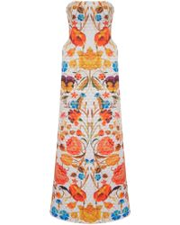 Temperley London Dove Mix Quilted Bonita Dress - Lyst