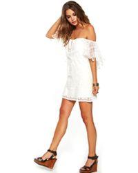 Jen's Pirate Booty   Wilderness Fiesta Mini Dress In White As Seen On Beyonce   Lyst
