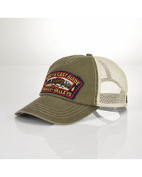 Polo Ralph Lauren Buffalo Trucker Hat - Lyst
